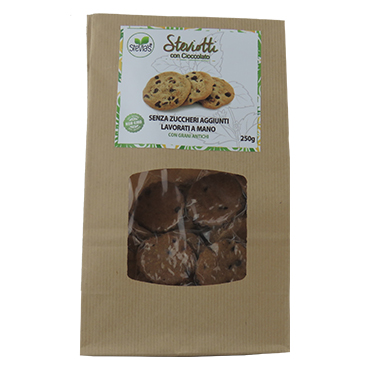 sugar-free-biscuits-with-chocolate-sweetened-with-natural-stevia-for-diabetics-with -ncient-grains