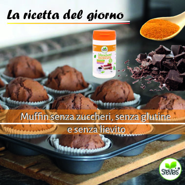 muffins with pumpkin flour, gluten-free, sweetened with stevia, without yeast,