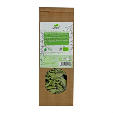 Leaf-stevia-from-cultivation-biological-for-diabetes whole leaves of 25g